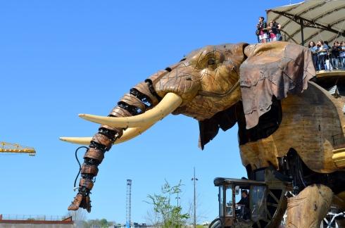 Machines de l'ile carroussel des mondes marins et éléphant nantes (5)