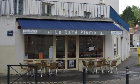 café plume à Nantes